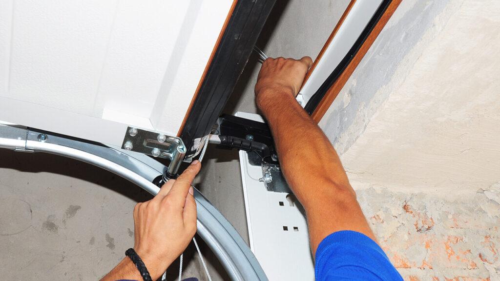 Coiling Steel Overhead Doors Repair